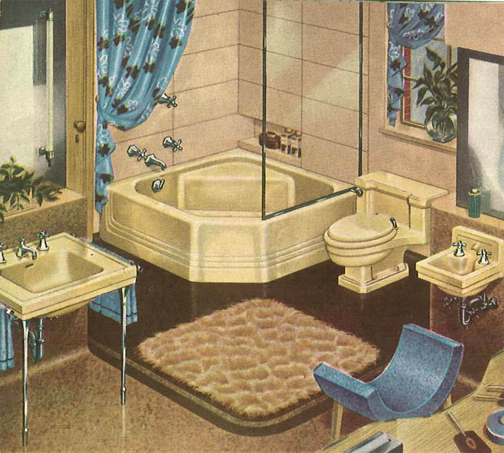 Decorating A Yellow Bathroom Color History And Ideas From