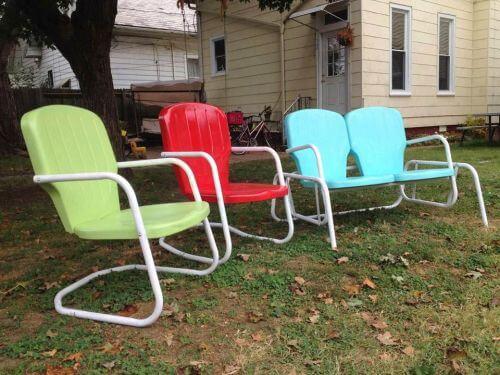 vintage patio furntiure