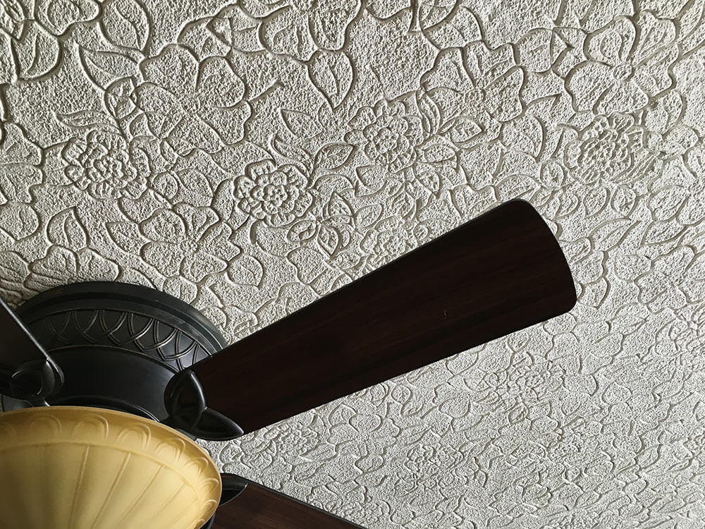 Tamara 39 S Embossed Ceiling From The 1960s Have You Seen This Before R
