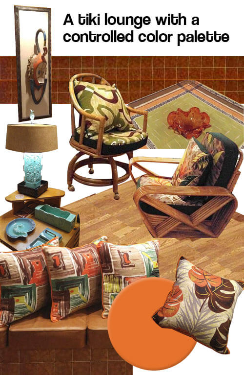 Gorgeous Vintage Barkcloth Brings Pattern And Color Into