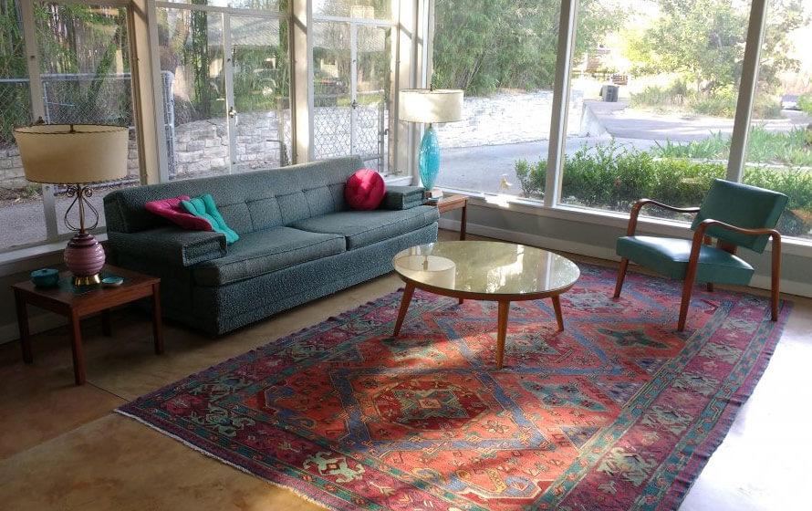 Adam Nguyen 39 S Blog Oriental Rugs In Midcentury Living Rooms Me Likey
