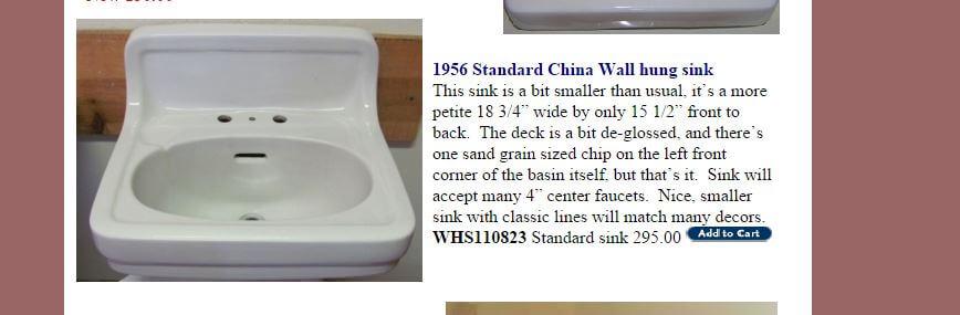 1956 Standard sink from deabath.com