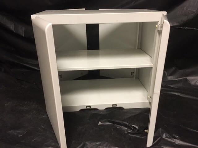 rca whirlpool steel kitchen cabinets very rare methinks