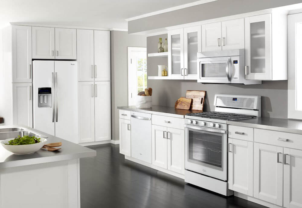 Whirlpool White Ice Appliances Another Nice Choice For A Vintage Or Midcentury Style Kitchen