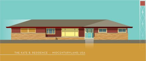 midcentury ranch