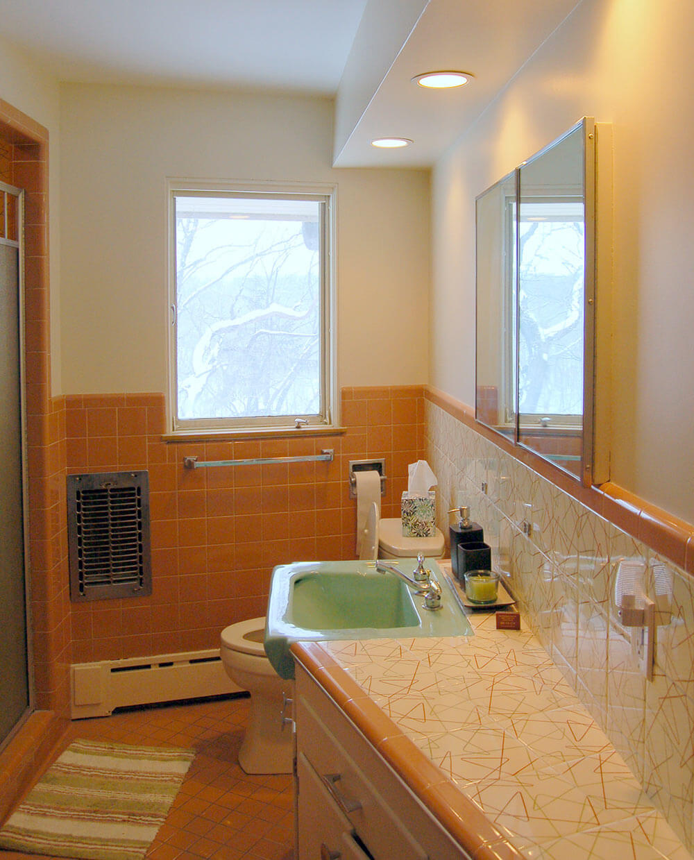 Mid Century Bathroom Tile: Spectacular Mosaic Tile Company Decorative Tiles In Roger