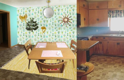 midcentury-wallpaper-dining-area2