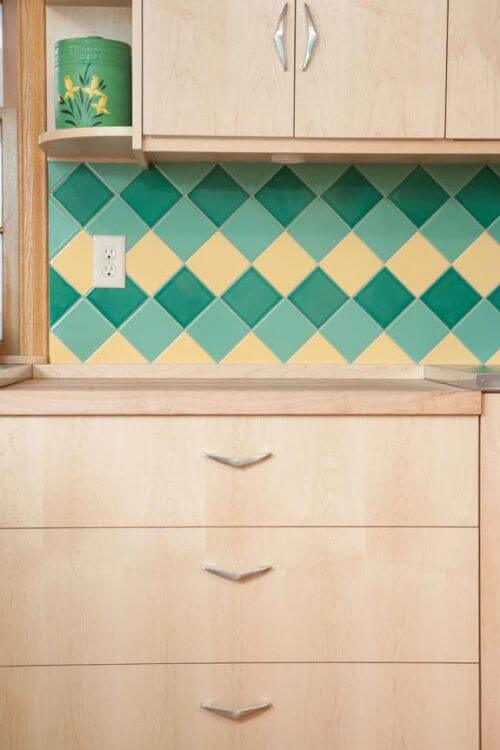 midcentury retro kitchen