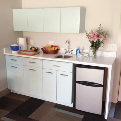 Steel kitchen cabinets