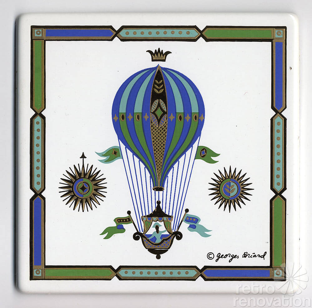 Georges Briard Tiles Tens Of Thousands Of Pieces Of New