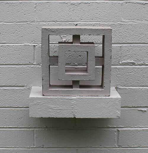 Old machinery replicates antique-style concrete blocks