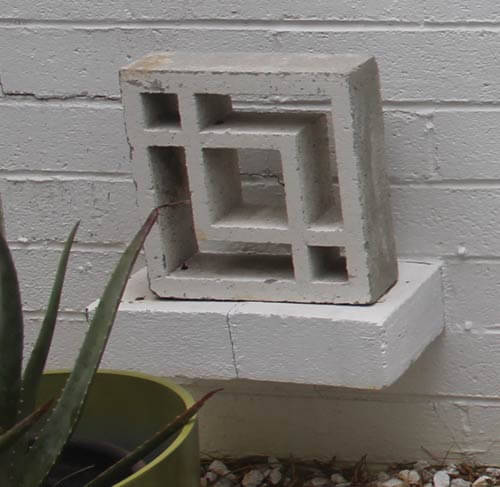How To Make Decorative Concrete Blocks - Old House