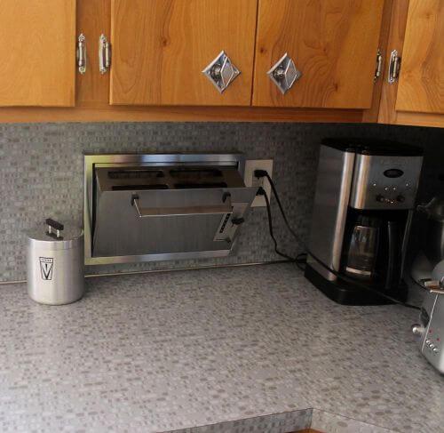 recessed toaster