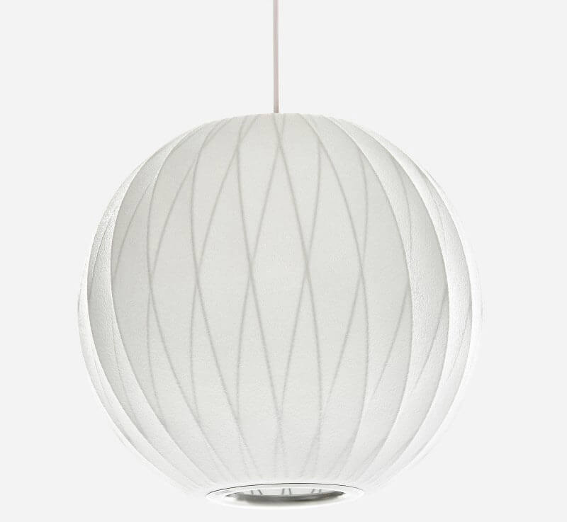 shop george nelson bubble lamps on clearance at modernica. Black Bedroom Furniture Sets. Home Design Ideas