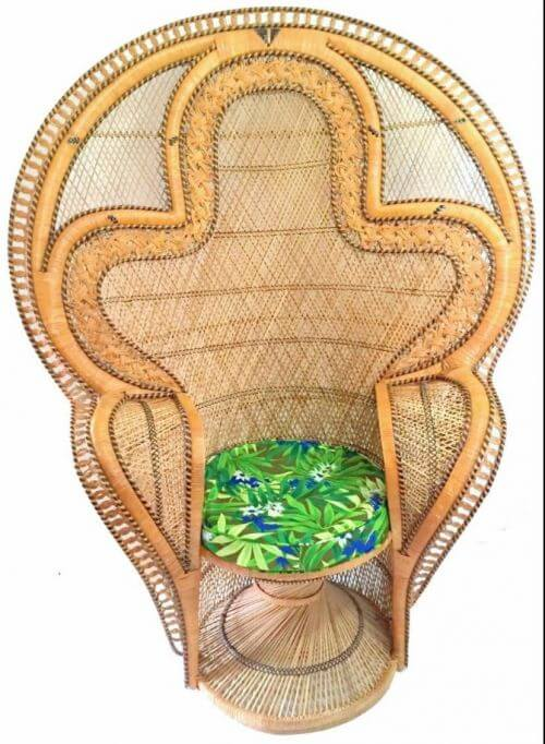 cobra peacock chair