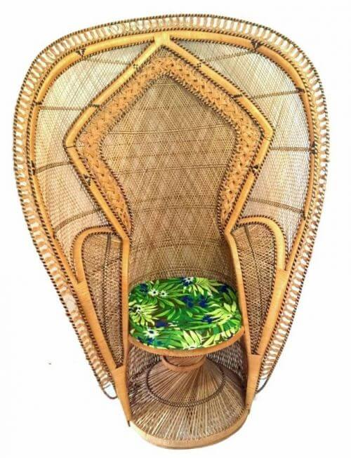peacock chair cobra