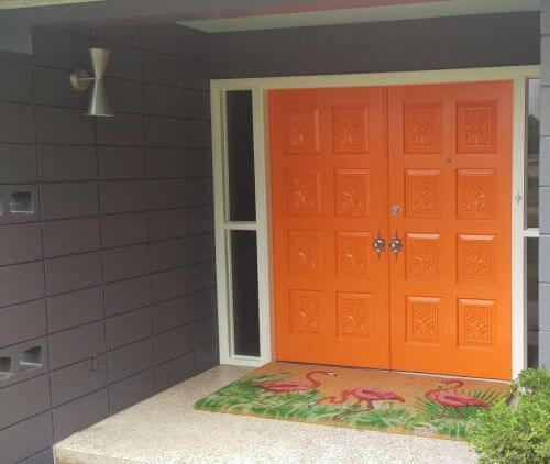 retro entry door