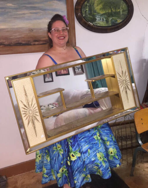 retro shadowbox