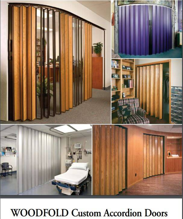 Accordion folding doors from 4 companies including 3 that have been in business for decades for Commercial accordion doors interior