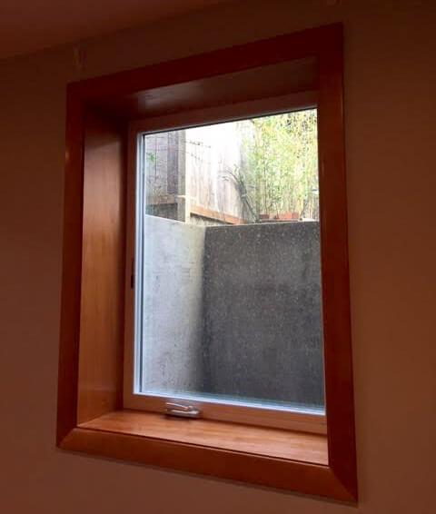 Adam nguyen 39 s blog christine s basement bedroom and for Clamshell door casing