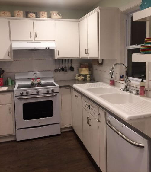 Ladonna creates a retro style kitchen that would make her for Classic style kitchen