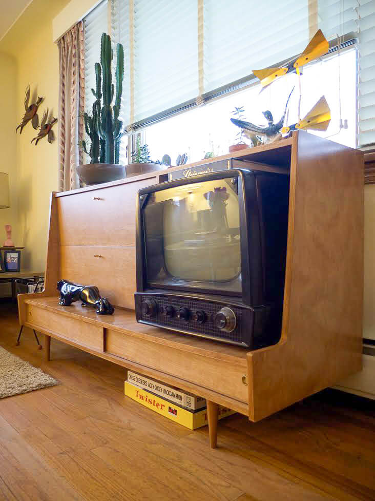 Chris S Diy Midcentury Modern Tv Cabinet Inspired By Paul