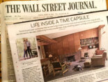 Talking time capsule houses with the Wall Street Journal