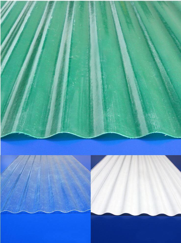 Old Fashioned Corrugated Fiberglass Panels For Roofing For