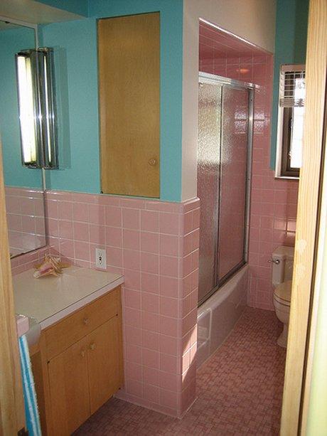 Ruth S Blue Geneva Kitchen Peach And Pink Bathrooms