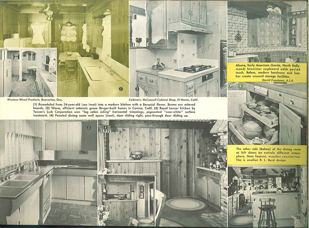 Mcconnell cabinets el monte ca for 101 vintage kitchen decorating ideas