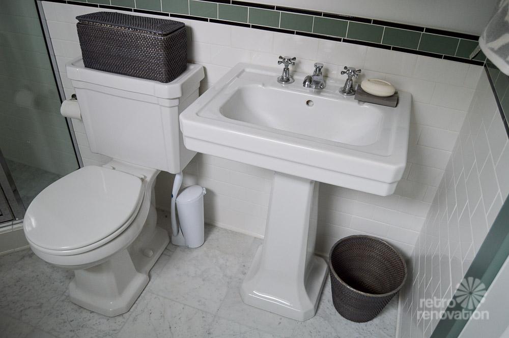 Amy's 1930s bathroom remodel - classic and elegant - Retro ...