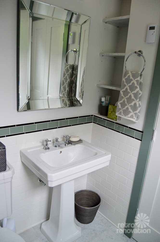 Amy S 1930s Bathroom Remodel Classic And Elegant Retro