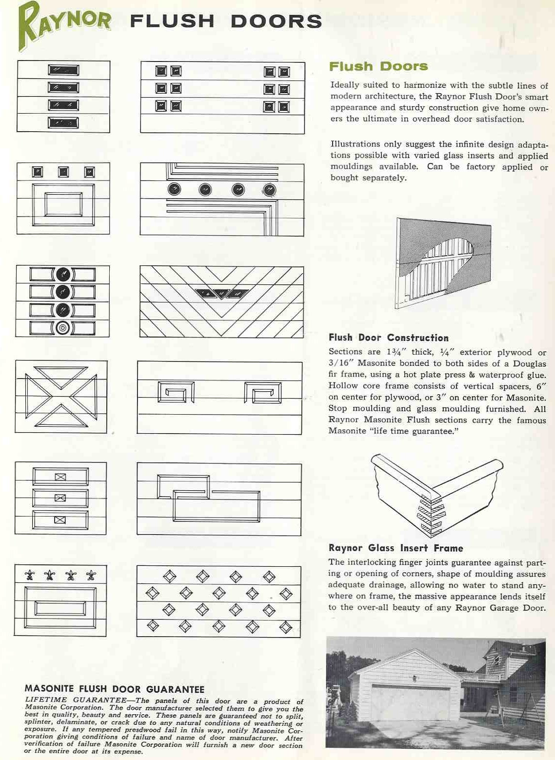 6 pages of ideas for garage doors from the 1950s retro renovation 1950s garage doors rubansaba