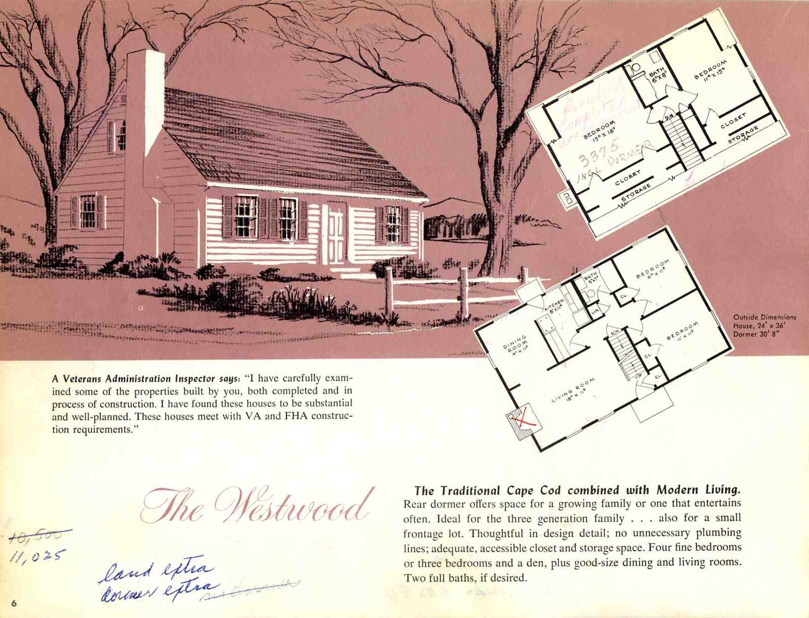 Hodgson Houses The First Pre Fabricated Homes In The U S on 1940 Cape Cod Style House Plans