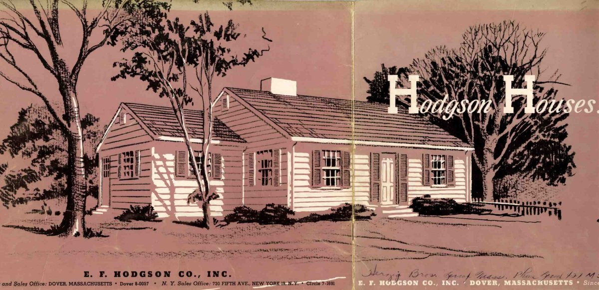 Hodgson Houses The First Pre Fabricated Homes In The U S