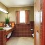 midcentury-brown-ceramic-tile-bathroom