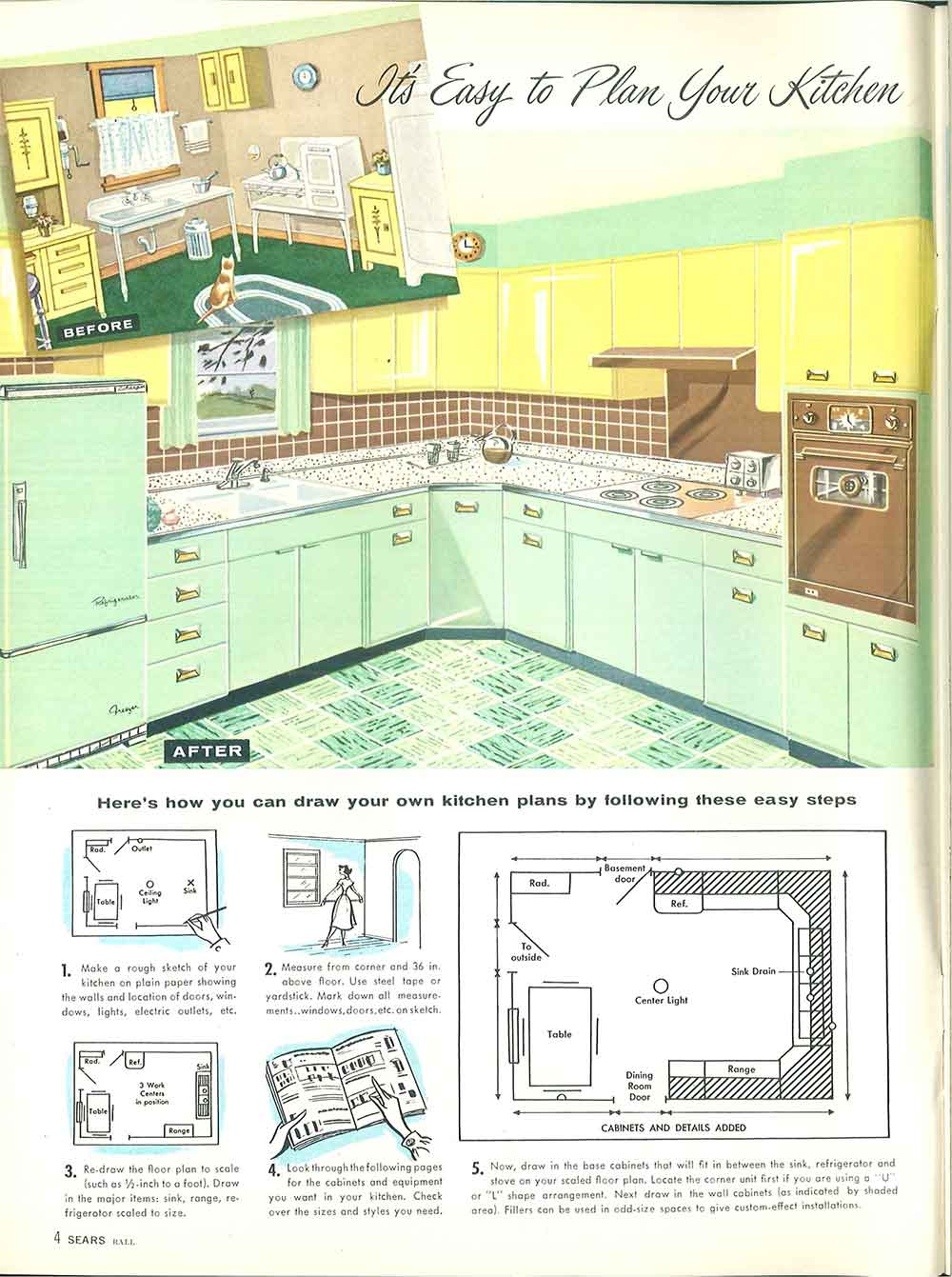 Sketch Of The Kitchen Inspiring Home Design