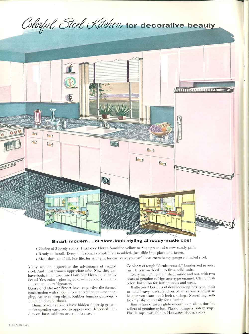 Sears Kitchen Cabinets And More 32 Page Catalog Retro Renovation