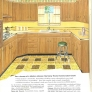 yellow and wood retro kitchen laminate counters