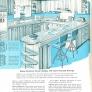 vintage kitchen with breakfast bar
