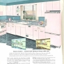 pink steel vintage kitchen