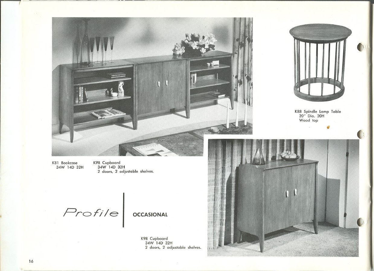1960 Drexel Profile Furniture Part 91