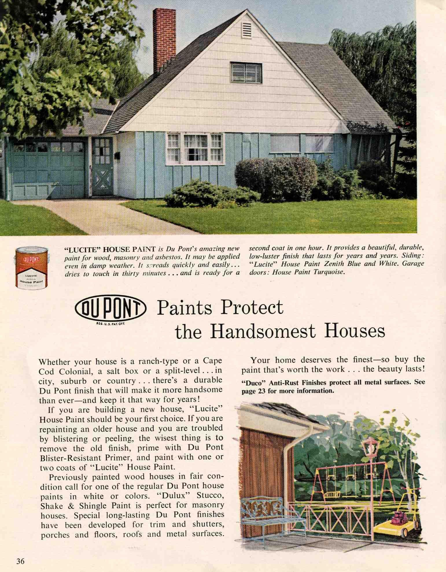 Exterior Colors For 1960 Houses   Retro Renovation