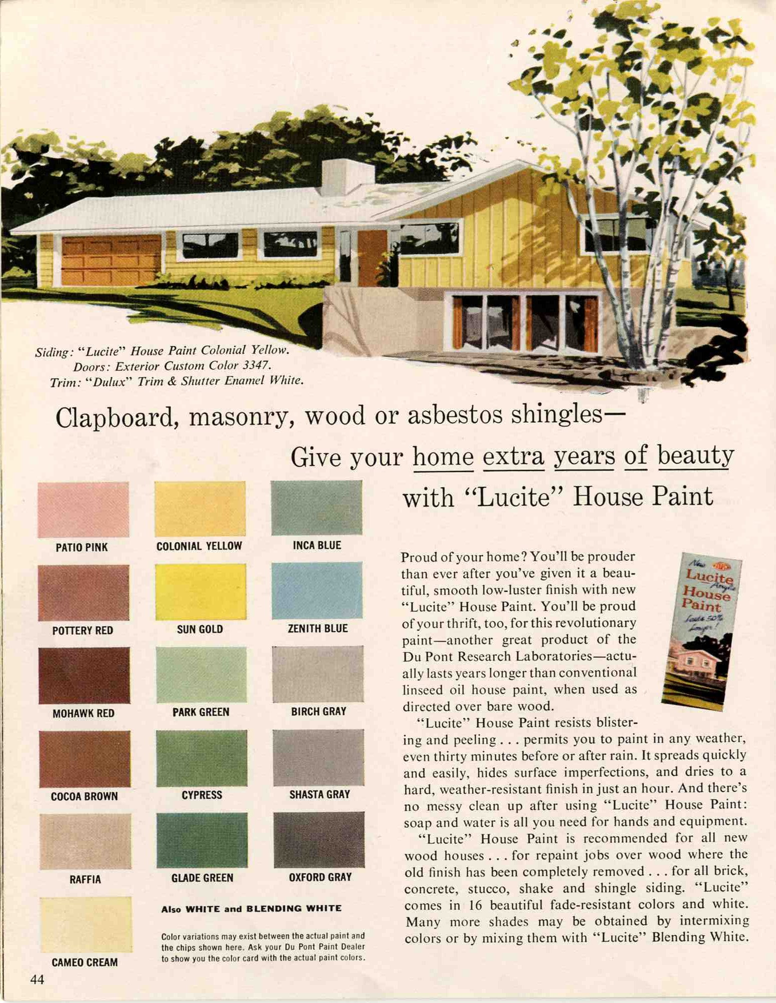 1960S Houses Exterior Colors For 1960 Houses  Retro Renovation