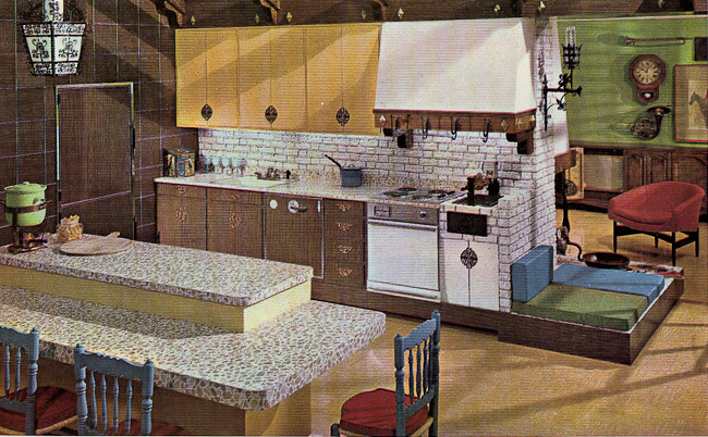 Decorating a 1960s kitchen - 21 photos with even more ...