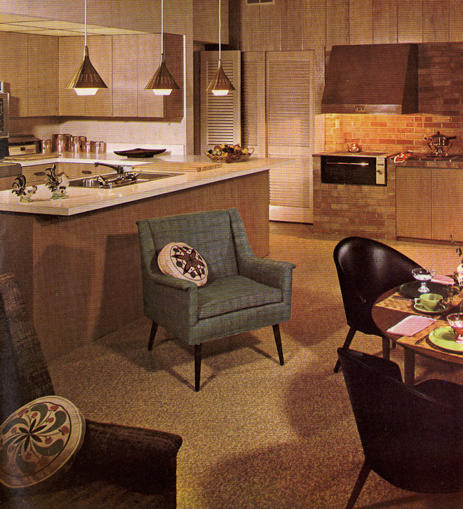 Decorating A 1960S Kitchen - 21 Photos With Even More Ideas From