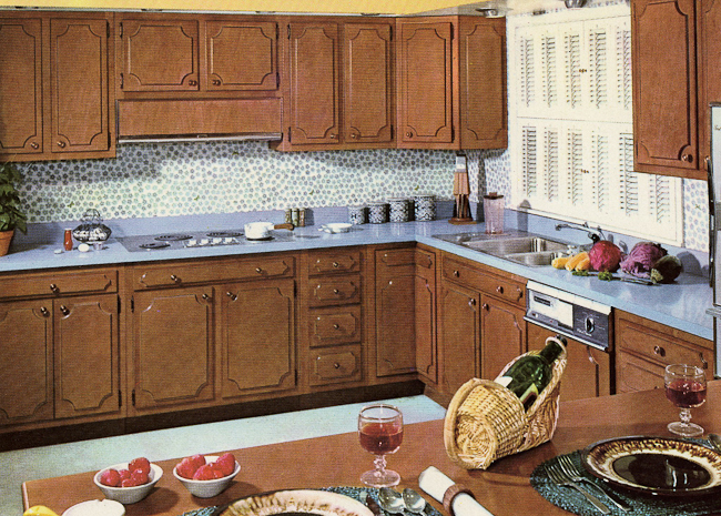 S Kitchen Cabinets Beauteous Decorating A 1960S Kitchen  21 Photos With Even More Ideas From Inspiration Design