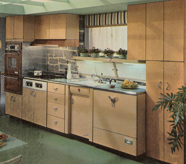 Vintage Kitchen Photography: Decorating A 1960s Kitchen