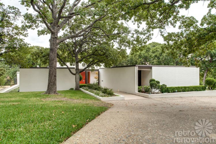The house that a brandt ranch oak built gorgeous 1967 for Contemporary houses in dallas for sale