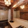 1970-black-and-beige-bathroom-wood-ceiling